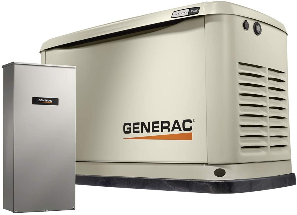 Generac 7178 Guardian 16kW Home Back Up Generator with Whole House Switch WiFi-Enabled. The best. Make sure to be ready with COVID-19. Corona Awareness.